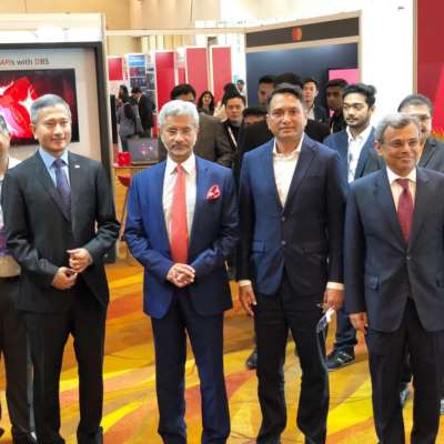 Odisha delegation at Indian Business and Innovation Summit, Singapore