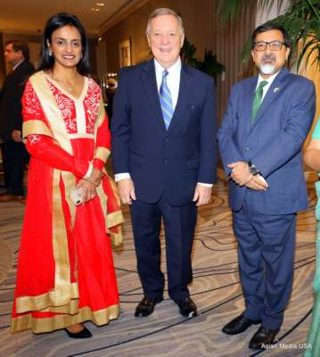 Mahatma Gandhi's 150th Birth Anniversary celebrated by Delhi Committee of the Chicago Sister Cities in partnership with World Business Chicago