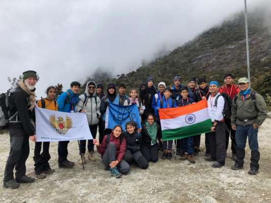 Pune Indus students conquer Mt Kinabalu
