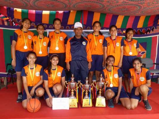 MAHARASHTRA GIRLS TEAM SHINE IN BASKETBALL NATIONAL GAMES HELD IN VIKASA INTERNATIONAL SCHOOL TUTICORIN, TAMIL NADU