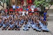 Special children celebrate 'Diwali' with TRIBE student team