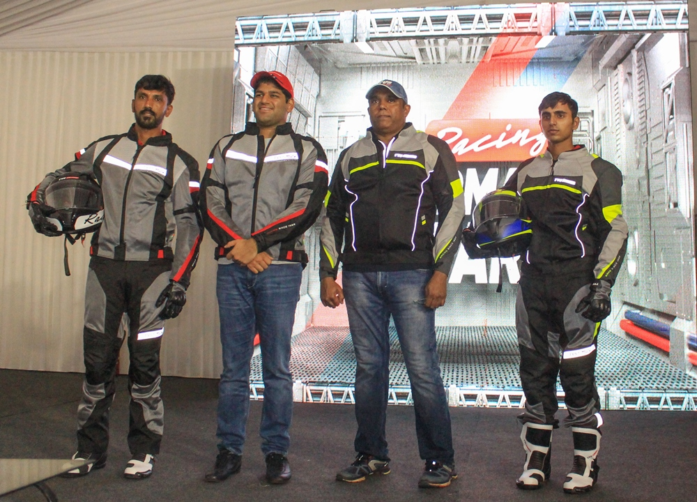 TVS Motor Company launches TVS Racing Performance Gear at MotoSoul 2019