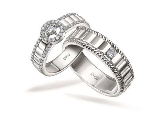 Explore the #GreaterTogether collection of Platinum Love Bands by Platinum Days Of Love
