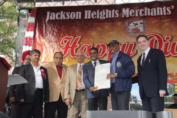 Jackson Height Merchant Association Celebrates Grand Diwali Mela