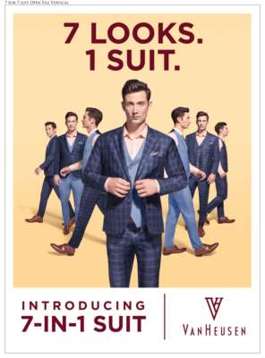 Van Heusen Innovates The 7-In-1 Suit Collection to Celebrate this Wedding Season in Style