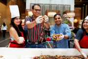 The Westin Hyderabad Mindspace heralds the festivities with a Cake Mixing Ceremony