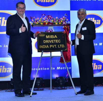 Miba Drivetec inaugurates its new manufacturing plant in Pune