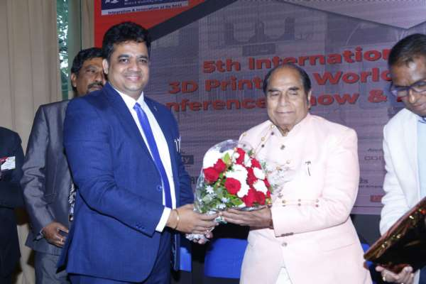 5th edition of International 3D Printing World 2019 Conference and 3D Printing World Awards imprinted its name in the 3D Industry in the presence of Padmashree Dr. D. Y. Patil
