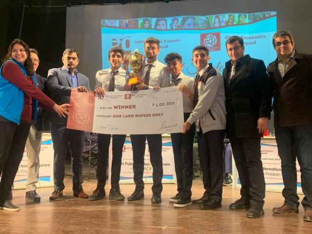 Karnataka team wins the grand Finale at the 7th International Financial Olympiad