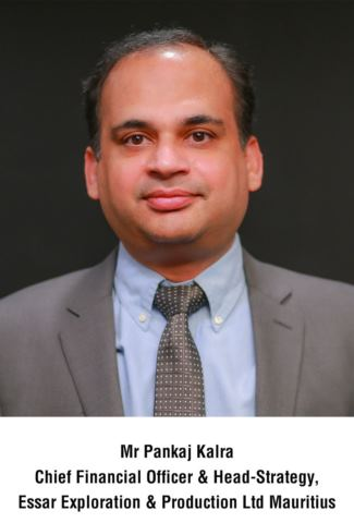 Pankaj Kalra appointed Chief Financial Officer and Head of Strategy of Essar Exploration & Production