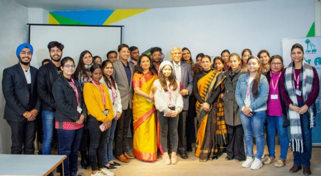Ahead of Republic Day, JD Institute of Fashion Technology conducted Seminar on 'Social Responsibility of The Youth'