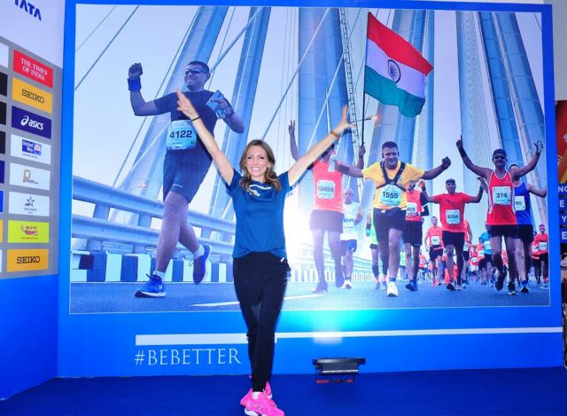 """Running is the foundation of any sport,"" says Shannon Miller, International Event Ambassador of the Tata Mumbai Marathon 2020"