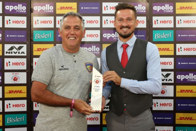 Nerijus Valskis nets the ISL Hero of the Month award for January 2020
