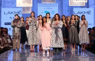 Eka and Telangana State Handloom Weavers Cooperative Society Ltd showcase at Lakmé Fashion Week Summer/Resort 2020
