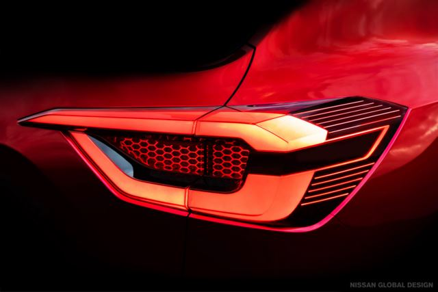Nissan releases the second glimpse of its all-New, technology-rich and Stylish SUV in 2020