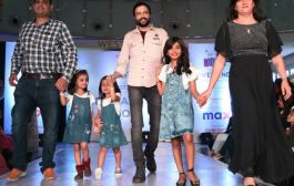 Over 65 children win hearts as they walk the ramp at Westend Mall in Pune