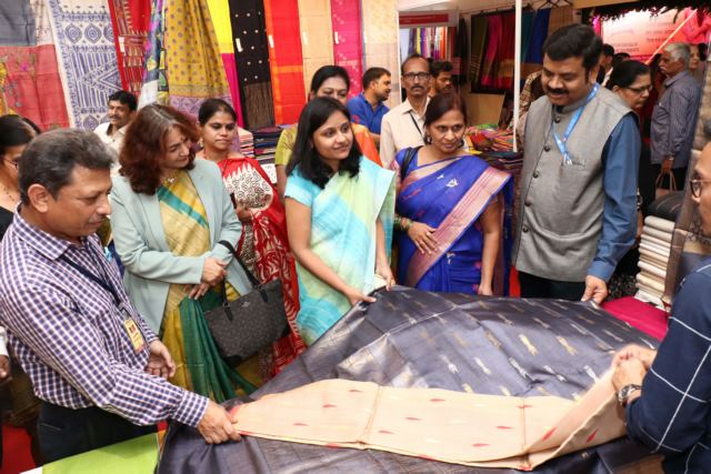 Silk Mark Organisation of India, Central Silk Board organized national-level expo in Pune