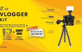 Unleash your Creative Side with Nikon Z 50 Vloggers Kit