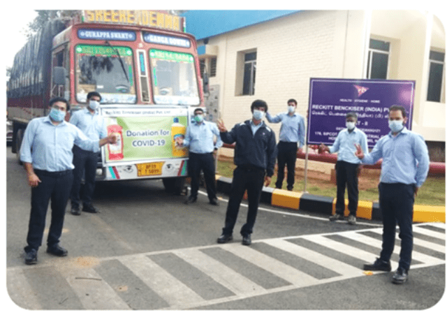 RB Distributes Disinfectants To Support And Combat COVID-19 In Maharashtra