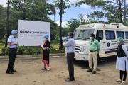 SKODA AUTO Volkswagen India Donates Mobile Health Clinic to Karanjvihire Primary Healthcare Centre