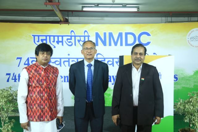 NMDC Celebrates 74th Independence Day
