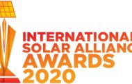 International Solar Alliance (ISA) announces Solar Awards 2020 to honor innovation and invention in the field of solar energy.