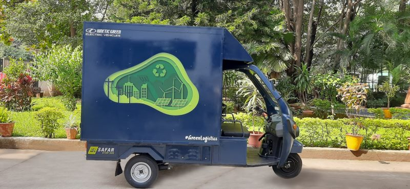 Kinetic Green launches India's first high speed, 1-ton electric three-wheeler Safar Jumbo designed for last-mile delivery
