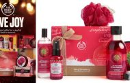 THIS FESTIVE SEASON, GIVE JOY AND COME TOGETHER WITH CARE ONLY AT THE BODY SHOP
