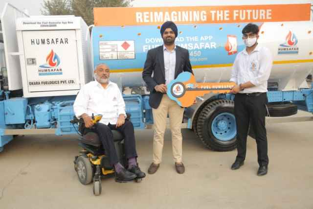 Humsafar ties-up with leading logistics company Okara Group for providing doorstep diesel delivery services in the state of Maharashtra