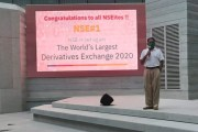 NSE is the world's largest derivatives exchange for 2nd consecutive year