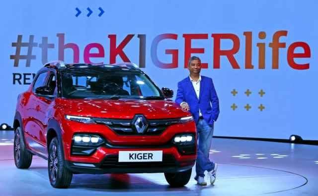WORLD FIRST: THE SPORTY, SMART, STUNNING RENAULT KIGER MAKES ITS DEBUT IN INDIA