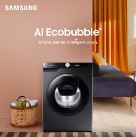 Samsung Transforms Laundry Care, Brings India's First AI-Enabled Connected Washing Machine Range with Hindi User Interface