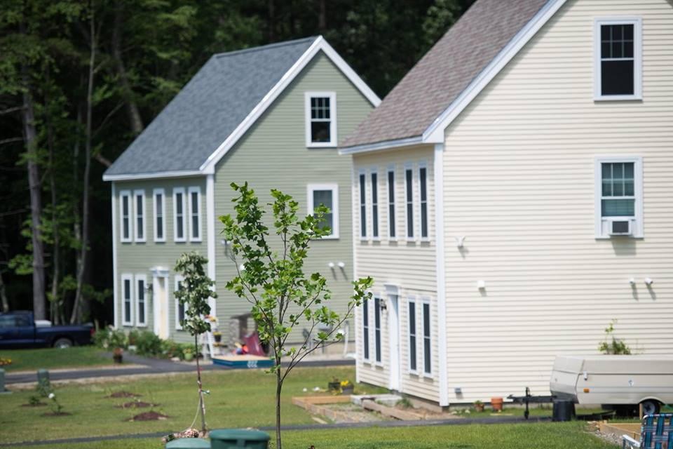 Fernwood group celebrates completion of eight new homes