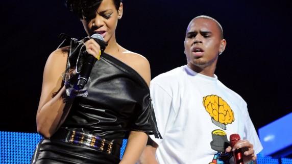 Rihanna og Chris Brown. (Foto: Scanpix)