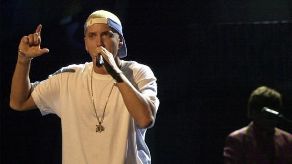 Eminem krever eget spillrom på turné. (Foto: Scanpix)