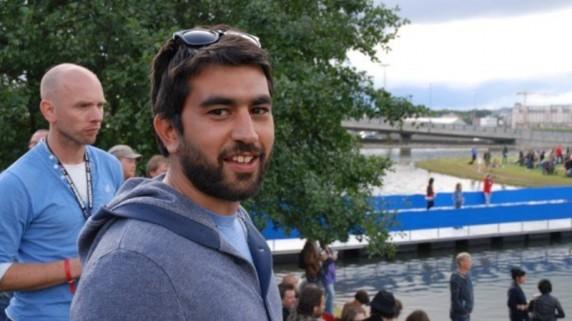 Behnam Farazollahi, pressesjef for Bylarm (Foto: Privat)