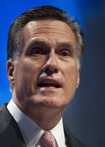 Mitt Romney, Candidate for President (Republican)