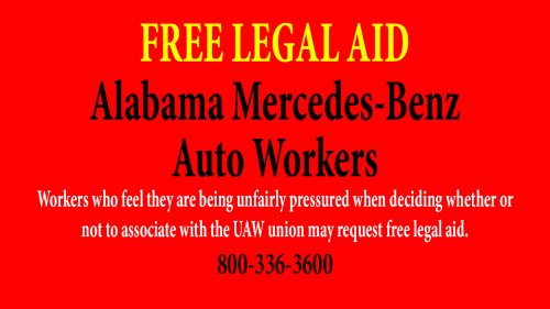 Free-Legal-Aid-to-Alabama-Mercedes-Benz-Employees