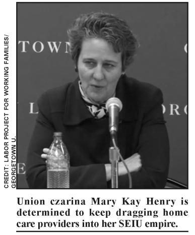 Union czarina Mary Kay Henry