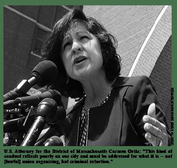 U.S. Attorney for the District of Massachusetts Carmen Ortiz@0,3x