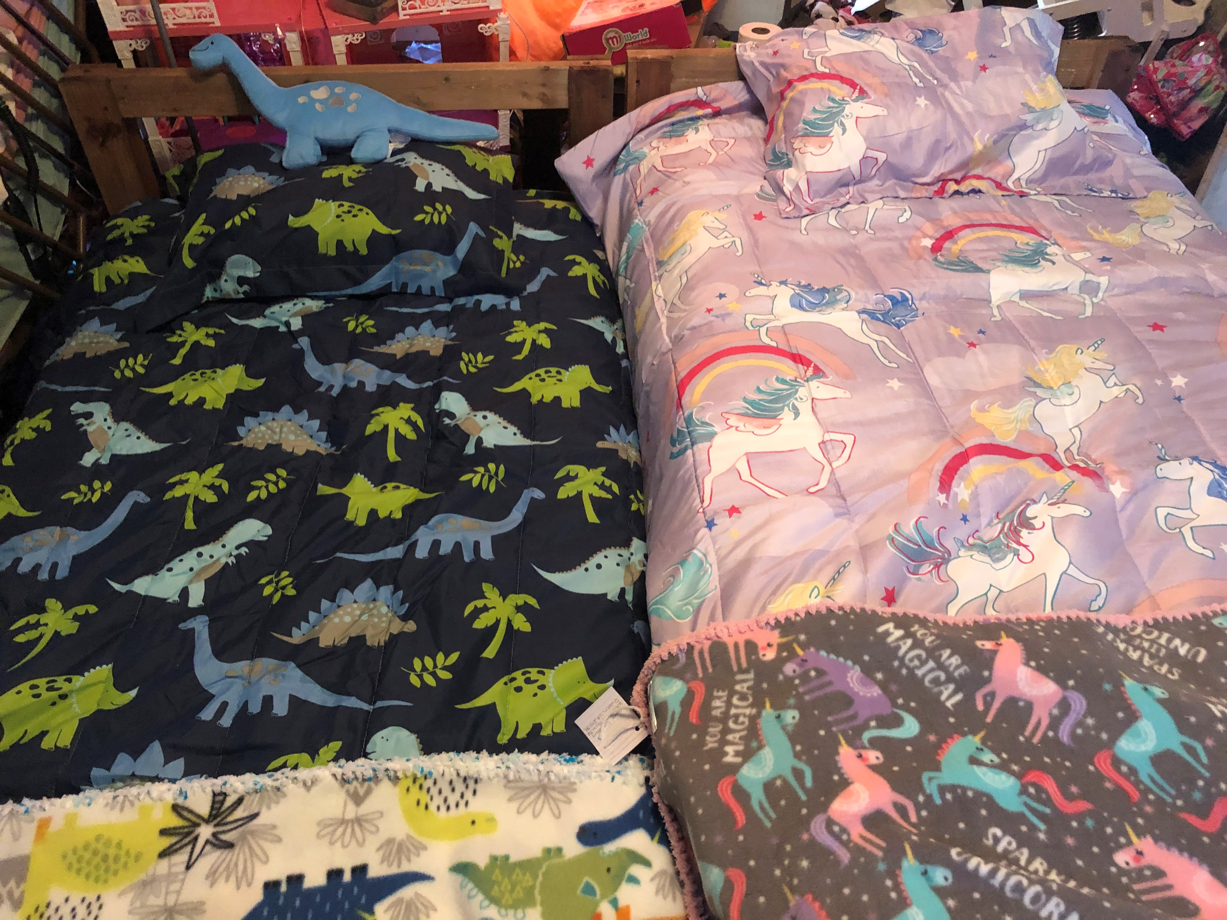 Picture of beds with blankets