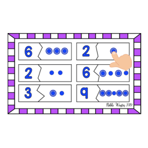 Touch Math Touch Point Puzzles (Autism / SPED)