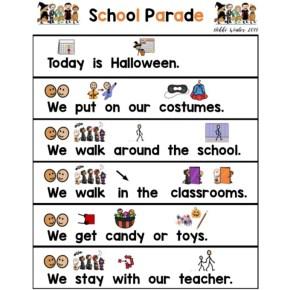Halloween Parade Social Story