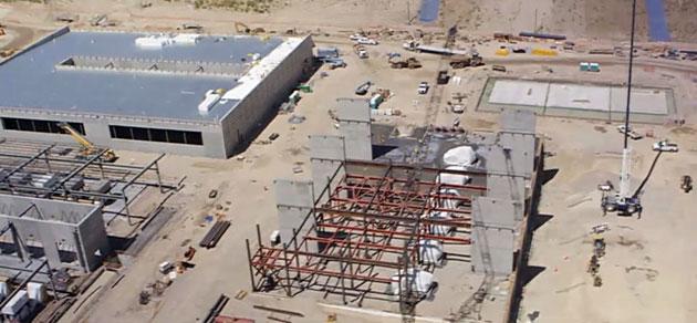 utah data center storage tanks and buildings