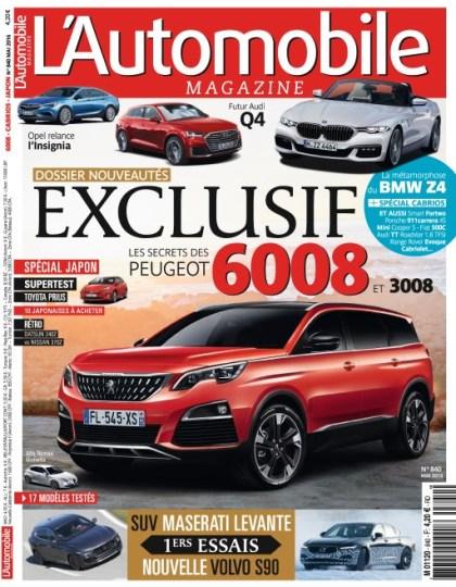 L'Automobile magazine N°840 - Mai 2016