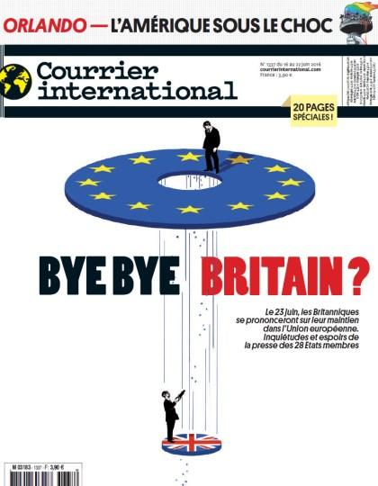 Courrier International N°1337 - 16 au 22 Juin 2016