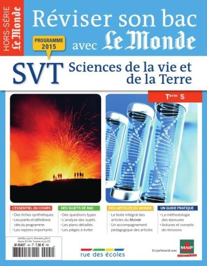Réviser son bac 2015 avec le Monde - Sciences de la Vie et de la Terre