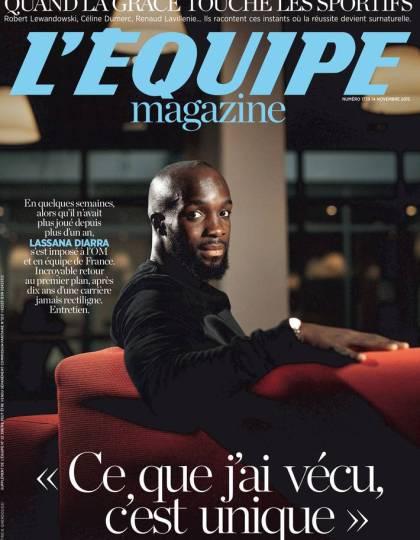 L'Equipe Magazine N°1739 du samedi 14 novembre 2015