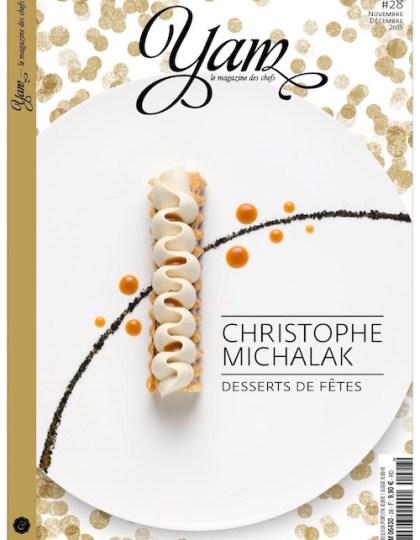 YAM -le magazine des chefs- n°28 Novembre Décembre 2015