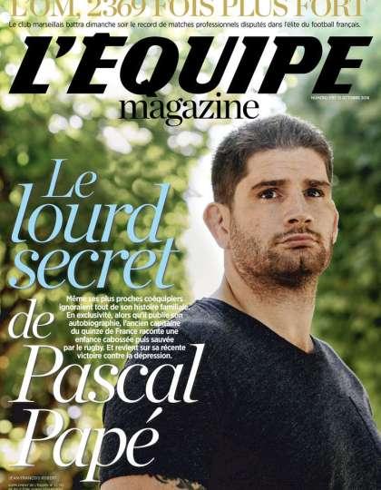 L'Equipe Magazine N°1787 - 15 Octobre 2016